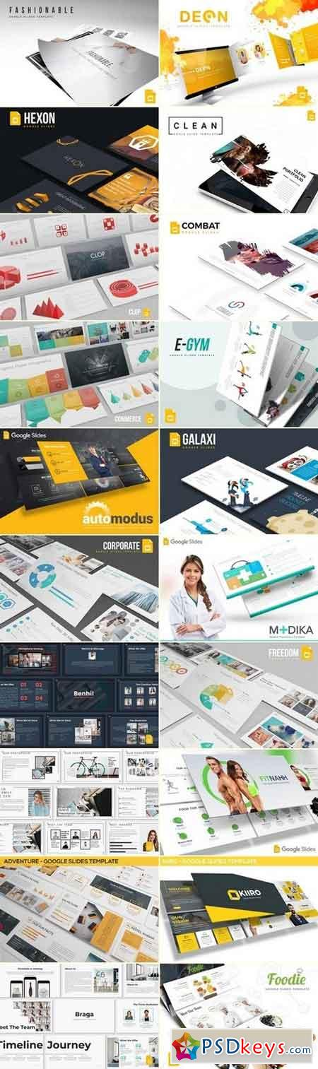 Google Slides Template Master Bundle 2