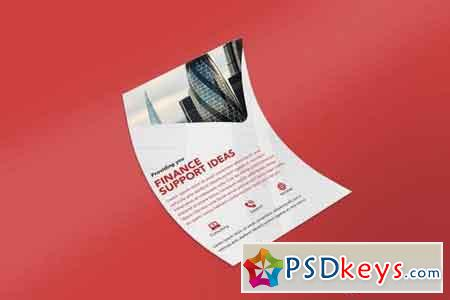 Letterhead page Mock Up Vol 03