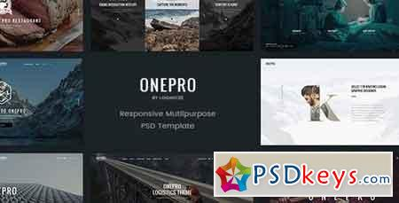 OnePro - Creative Multipurpose PSD Template - 15082258