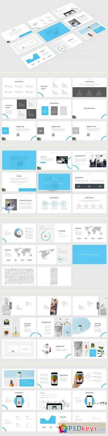 Triss Powerpoint & Keynote & Google Slide Template