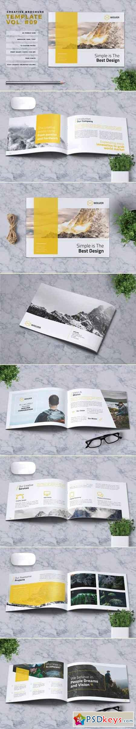 Creative Brochure Template Vol. 09