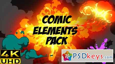 Comic Fx Pack 17323455 Motion Graphics