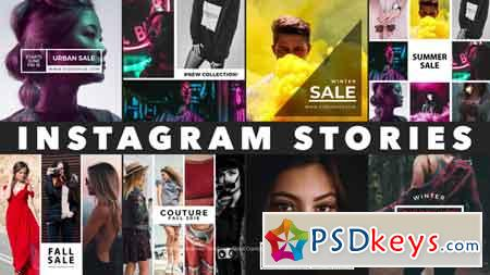 Instagram Stories 21837959 After Effects Template » Free
