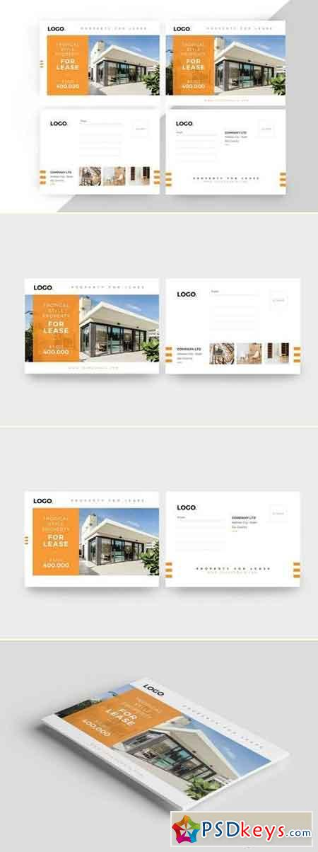 Properties Postcard