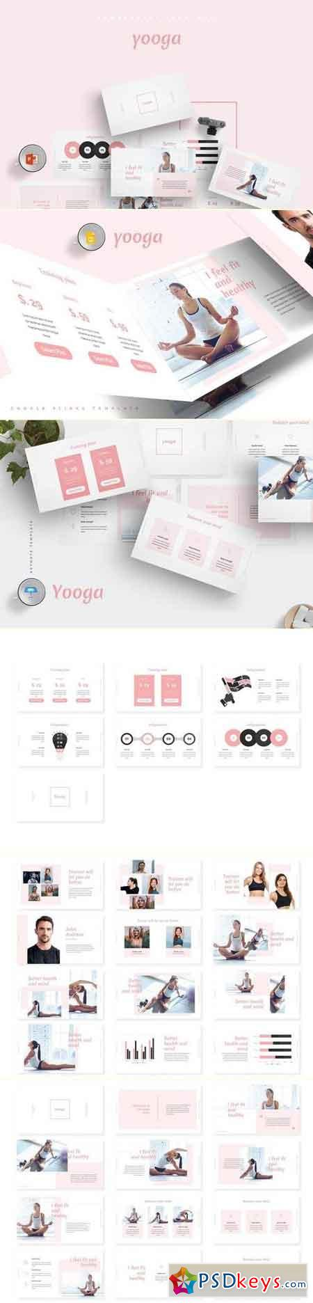 Yooga Powerpoint & Keynote & Google Slide Templates