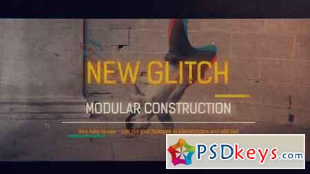 Glitch Reel Openers 15486505 After Effects Template