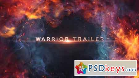 Warrior Trailer Titles 21359019 After Effects Template
