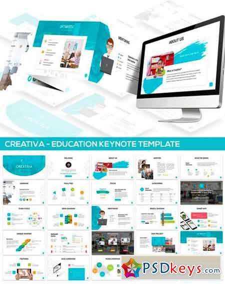 Creativa- Education Keynote Template 2527191