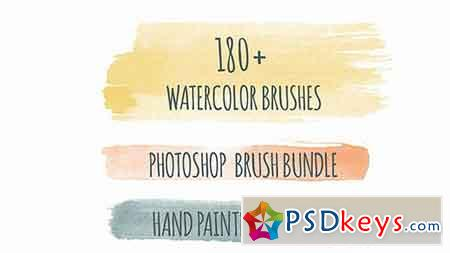 180+ Handdrawn Photoshop Brushes