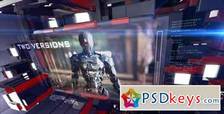 3D Sci-Fi Technology 8130183 After Effects Template