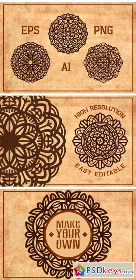 Contemporary Style Mandalas Vol. II