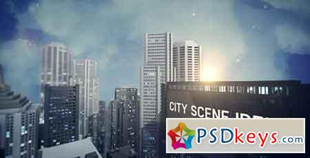 City Scene Ident 3982313 After Effects Template