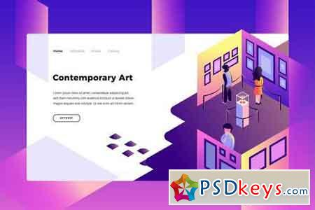 Contemporary Art - Banner Page