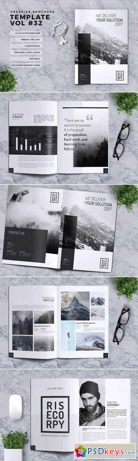 Creative Brochure Template Vol. 32