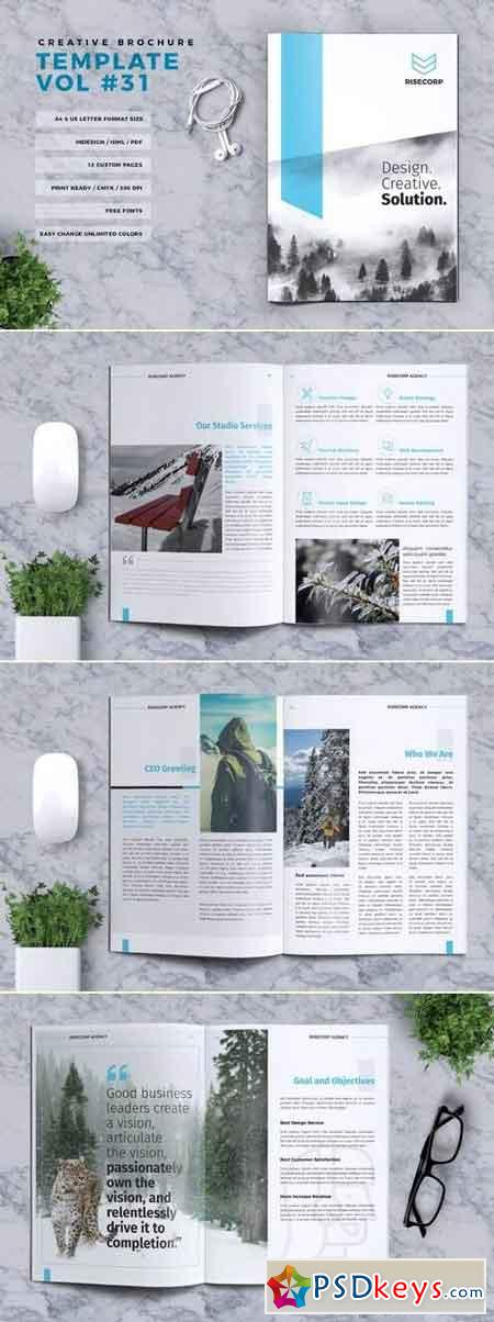 Creative Brochure Template Vol. 31