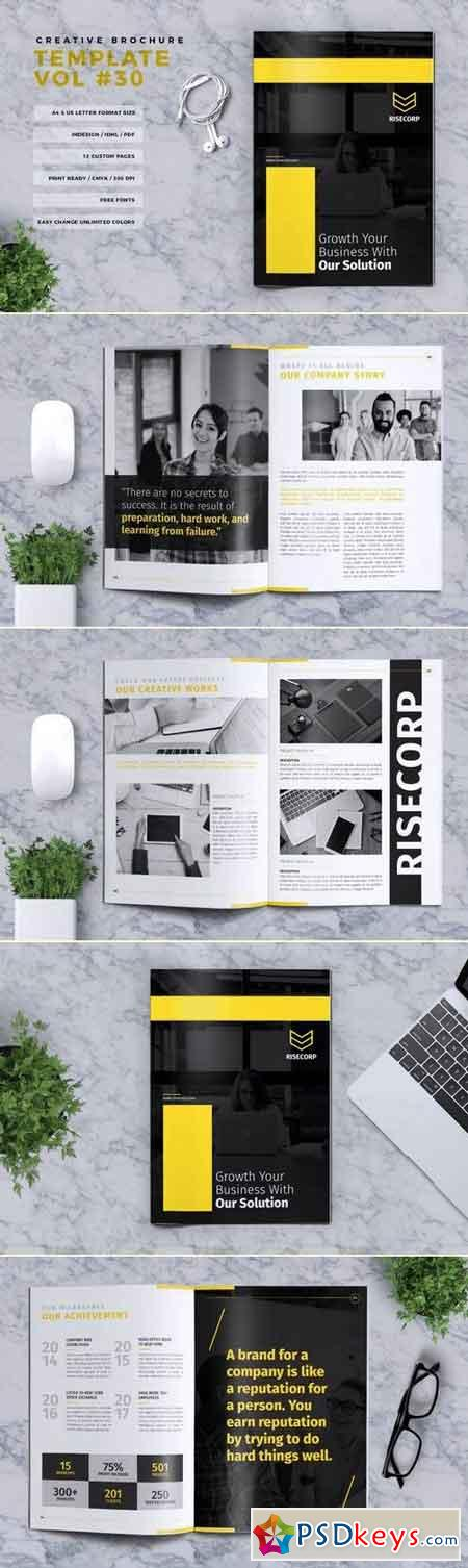 Creative Brochure Template Vol. 30