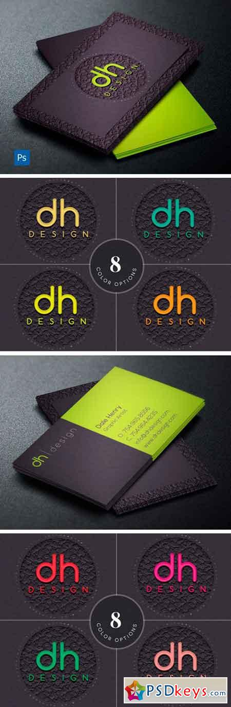 Designer Business Card Template 4298