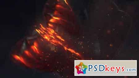 Fire Dragon Logo 13336634 After Effects Template