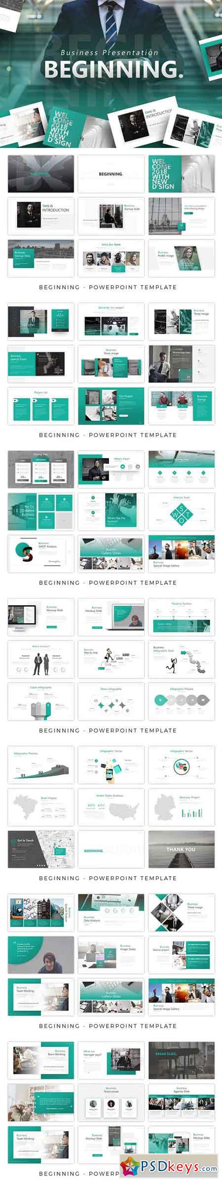 Beginning - Business Presentation 2805105
