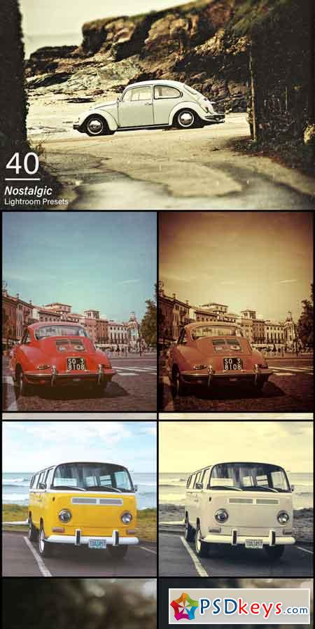 40 Nostalgic Lightroom Presets 3474565
