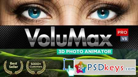VoluMax - 3D Photo Animator V5 - 13646883 (Updated 16 July 18)