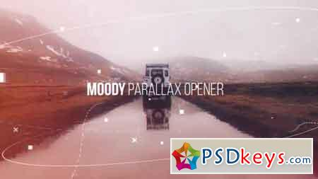 Moody Parallax Opener - 19524392 After Effects Template