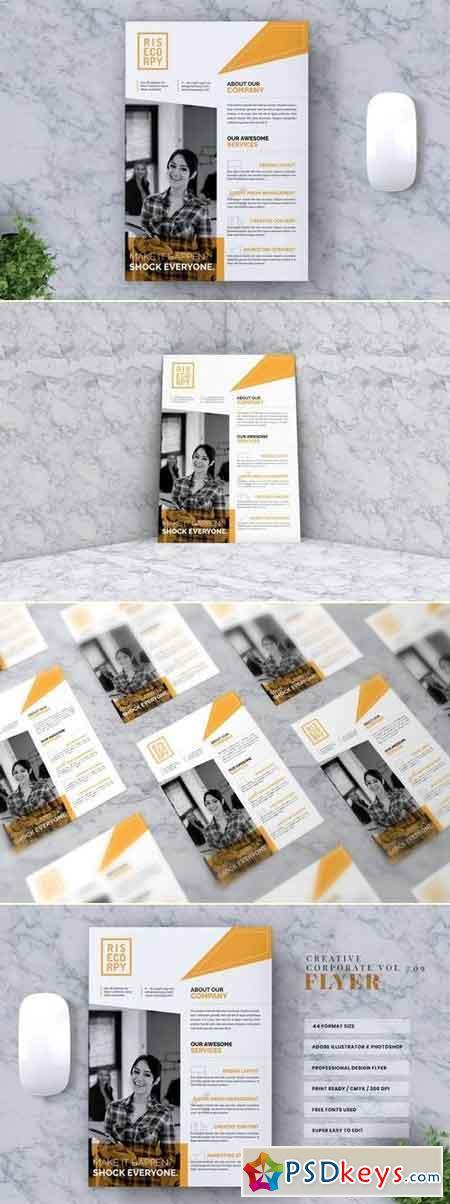 Creative Corporate Flyer Vol. 09