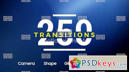 MotionElements - 250 Transitions 11713572 After Effects Template