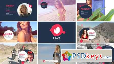 Lava Broadcast Package 18681283 After Effects Template
