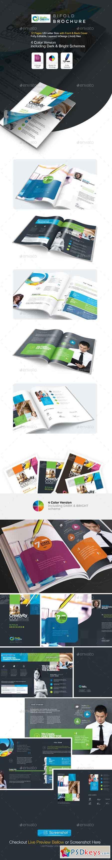 Creative Bifold Brochure 9563821