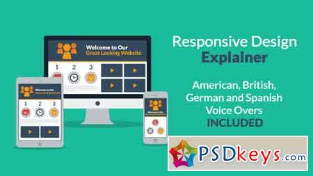 Responsive Design Explainer 5949240 After Effects Template