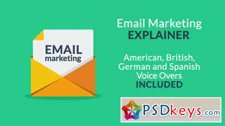Email Marketing Explainer 18709744 After Effects Template