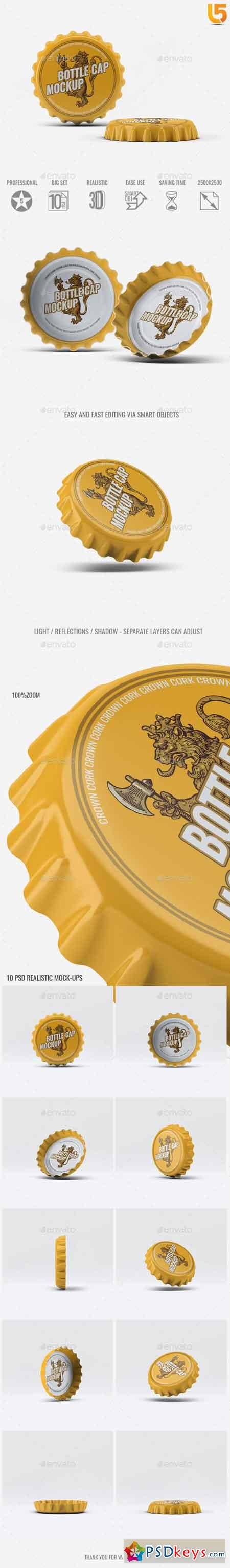 Bottle Cap Mock-Up 19529678