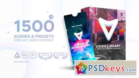 Video Library - Video Presets Package V3 21390377 After Effects Template