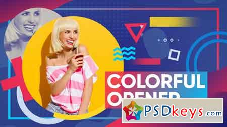 Colorful Opener 22043954 After Effects Template