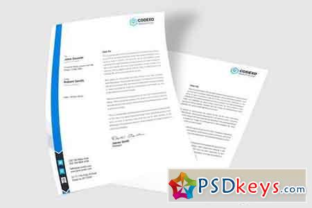 Letter Presentation Mock Up Vol 04