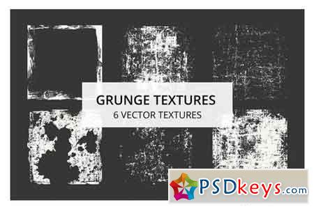 6 Grunge Textures for a Vintage Destroyed Look