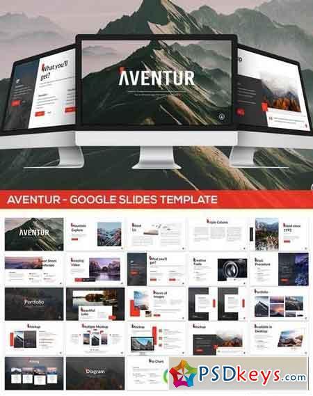 Aventur - Google Slides Presentation Template