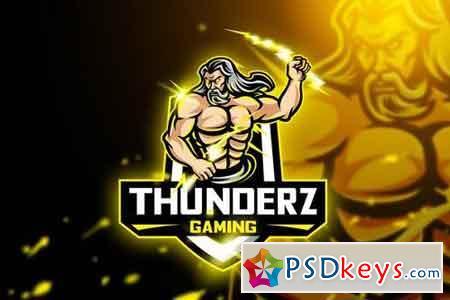 Thuderz Gaming - Mascot & Esport Logo