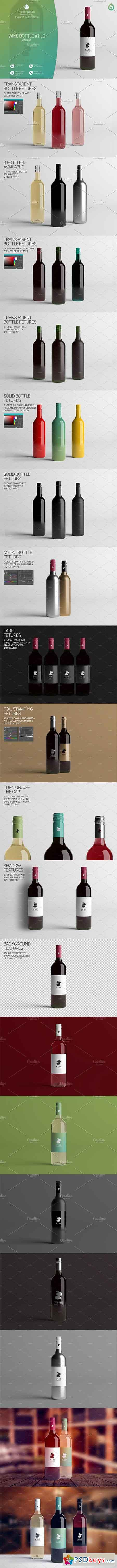 Wine Bottle LG Mock-Up 1 V2 2816412