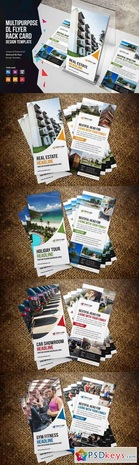 Rack Card DL Flyer Design v1 3475165