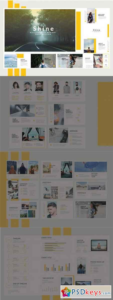Shine Keynote Template