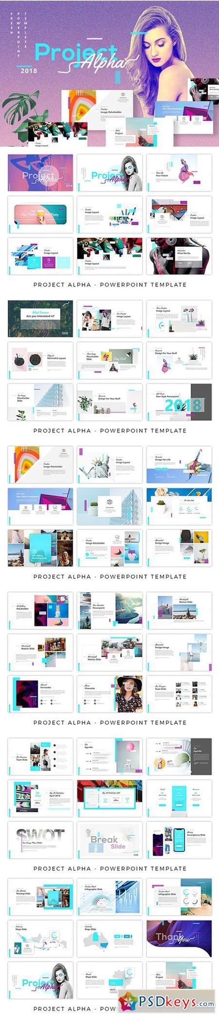 Project Alpha - Creative Powerpoint 2712486