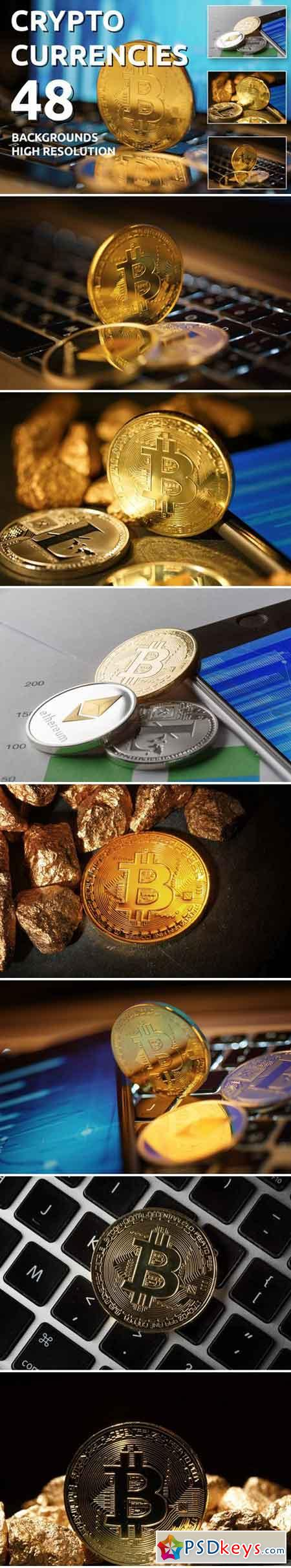 Crypto Currencies 48 Background 57770