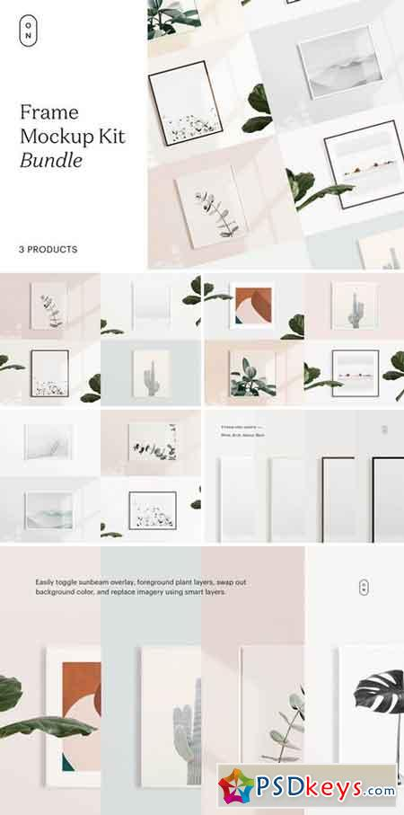 Frame Mockup Kit Bundle 2752147