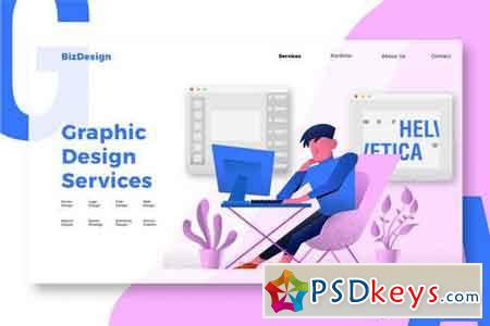Graphic Design - Banner & Landing Page