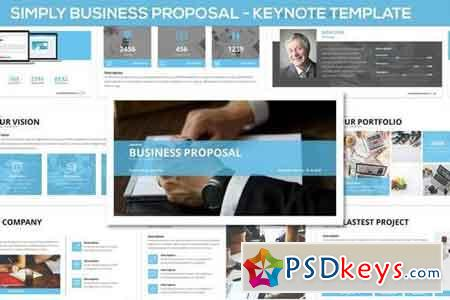 Simply Business Proposal - Keynote Template