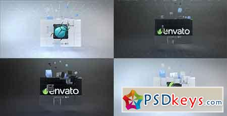 Corporate Cubes Logo Reveal 20626250 After Effects Template