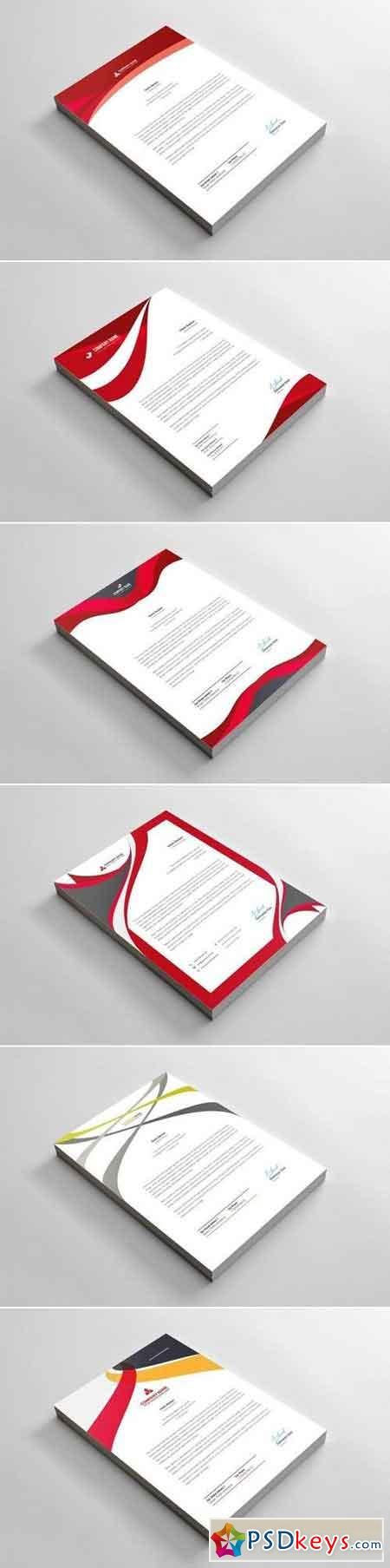 Letterhead Bundle 6