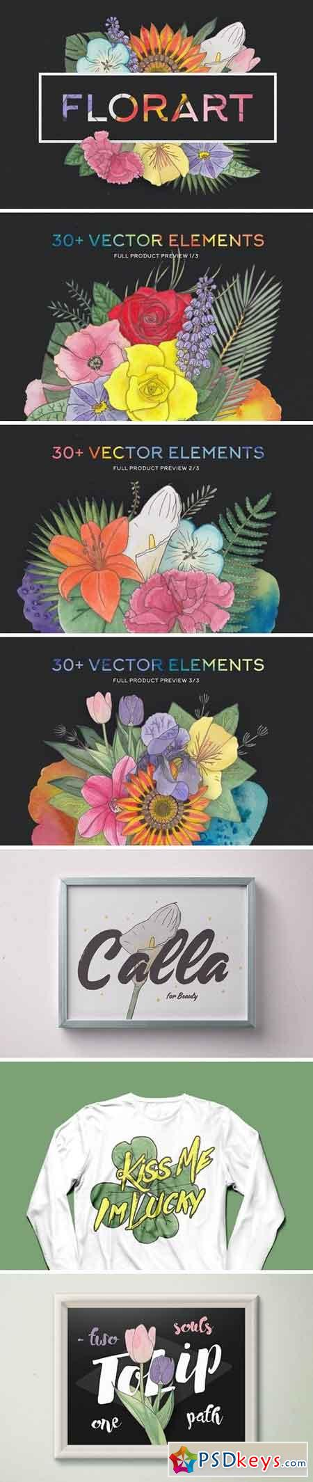 FlorArt Watercolor Kit 725744